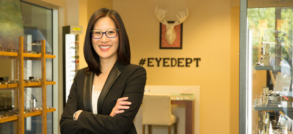 Portland Optometrist Annie Bacon Eye Department eye care and eyewear Goose Hollow neighborhood