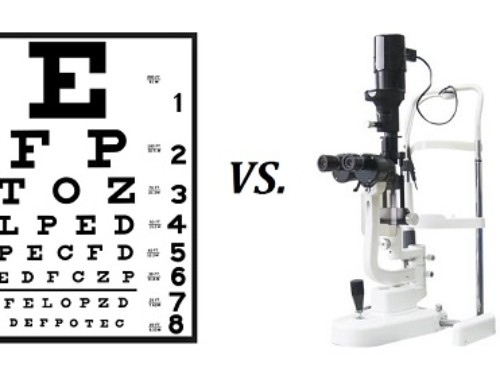 What is the difference between a vision screening and an eye exam?